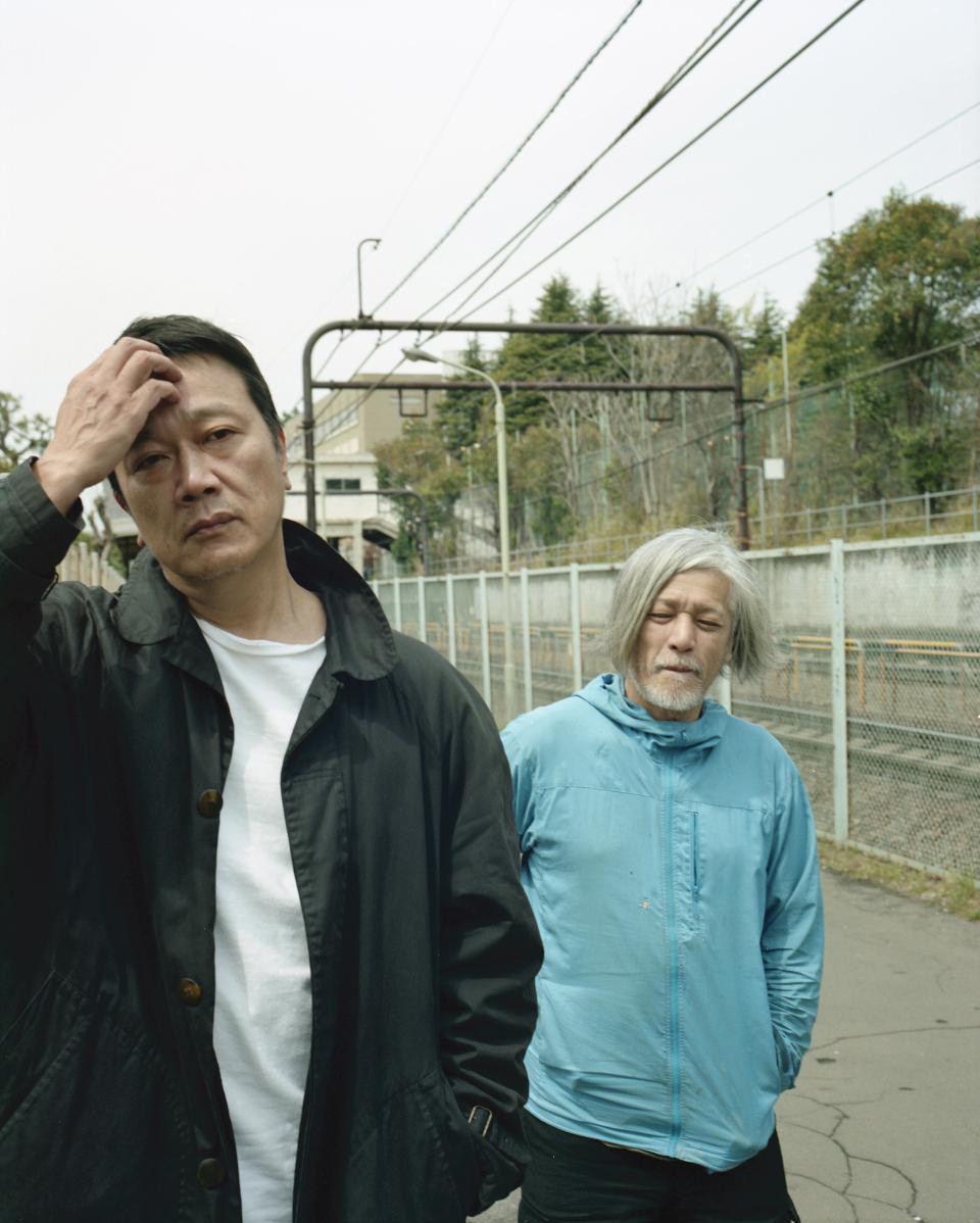 『を待ちながら』 撮影:ホンマタカシ