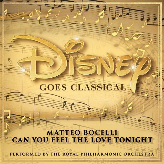 アルバム『Disney Goes Classical(ディズニー・ゴーズ・クラシカル)』