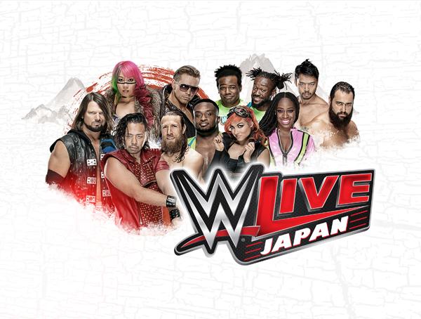 中邑真輔が王者AJスタイルズに挑戦する『WWE Live Japan』 (c)2018 WWE, Inc. All Rights Reserved.