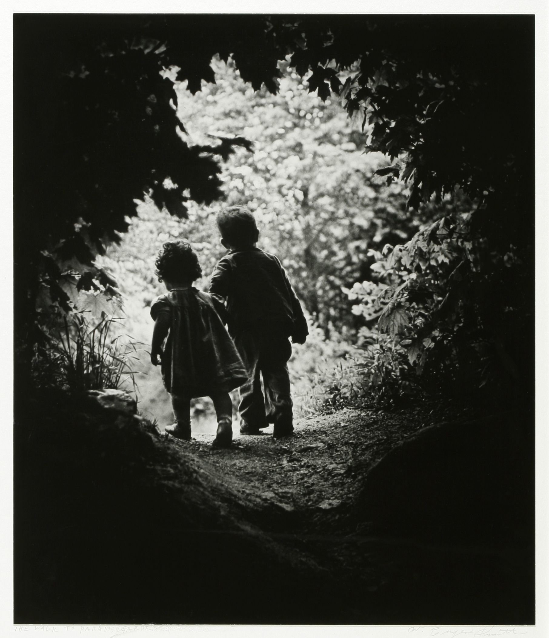 W.ユージン・スミス(アメリカ、1918-1978) 《楽園への歩み》1946年 (C)2017 The Heirs of W. Eugene Smith/PPS