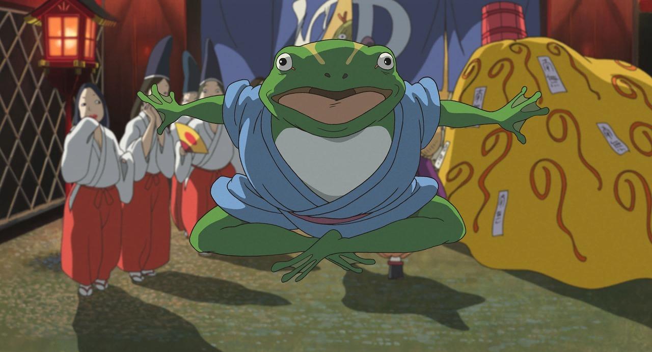 青蛙  (C)2001 Studio Ghibli・NDDTM