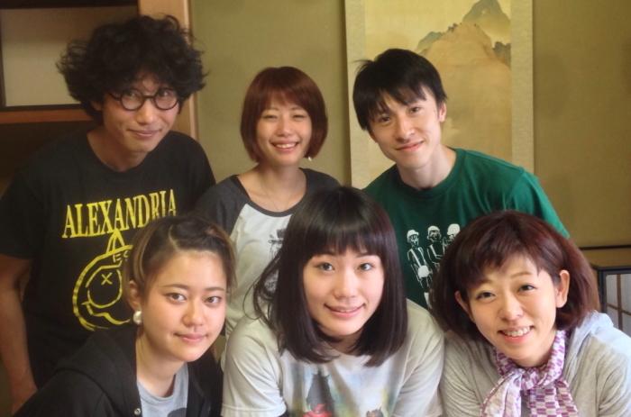 トリコロールケーキ・アニマル#4『モグララ』出演者たち