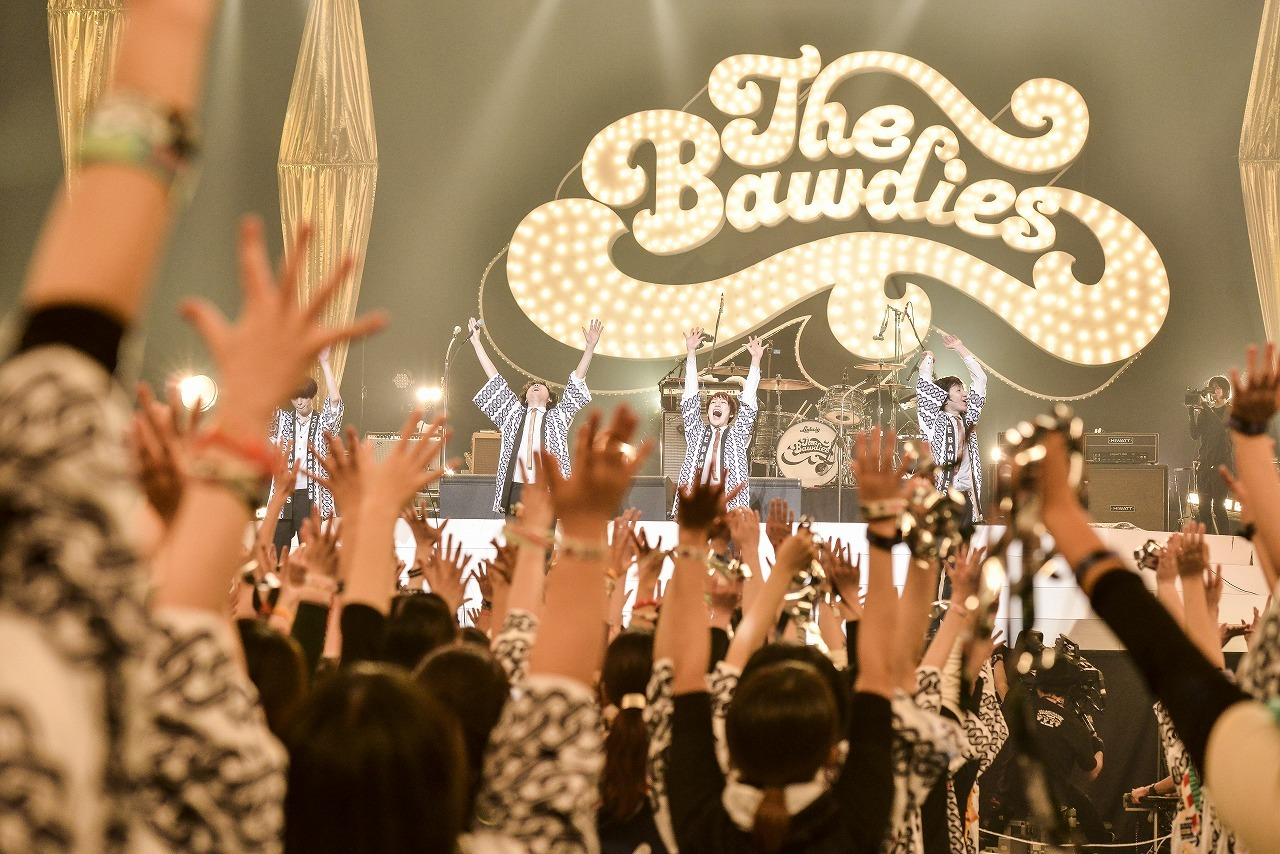 THE BAWDIES 2019.1.17 日本武道館 撮影=橋本 塁(SOUND SHOOTER)