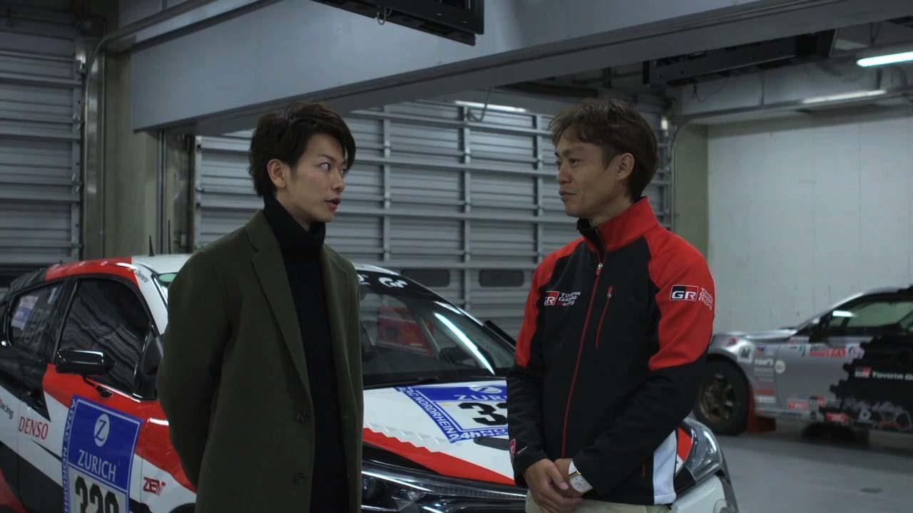 オフショット 「TAKERU SATOH meets GAZOO MORIZO篇」