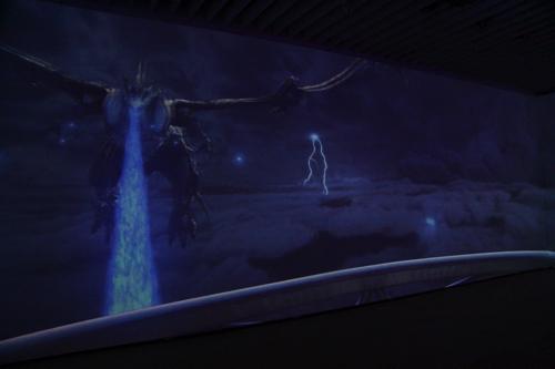 参加型インタラクティブシアター 飛空挺エンタープライズ号に乗り込み、幻獣バハムートと戦う
