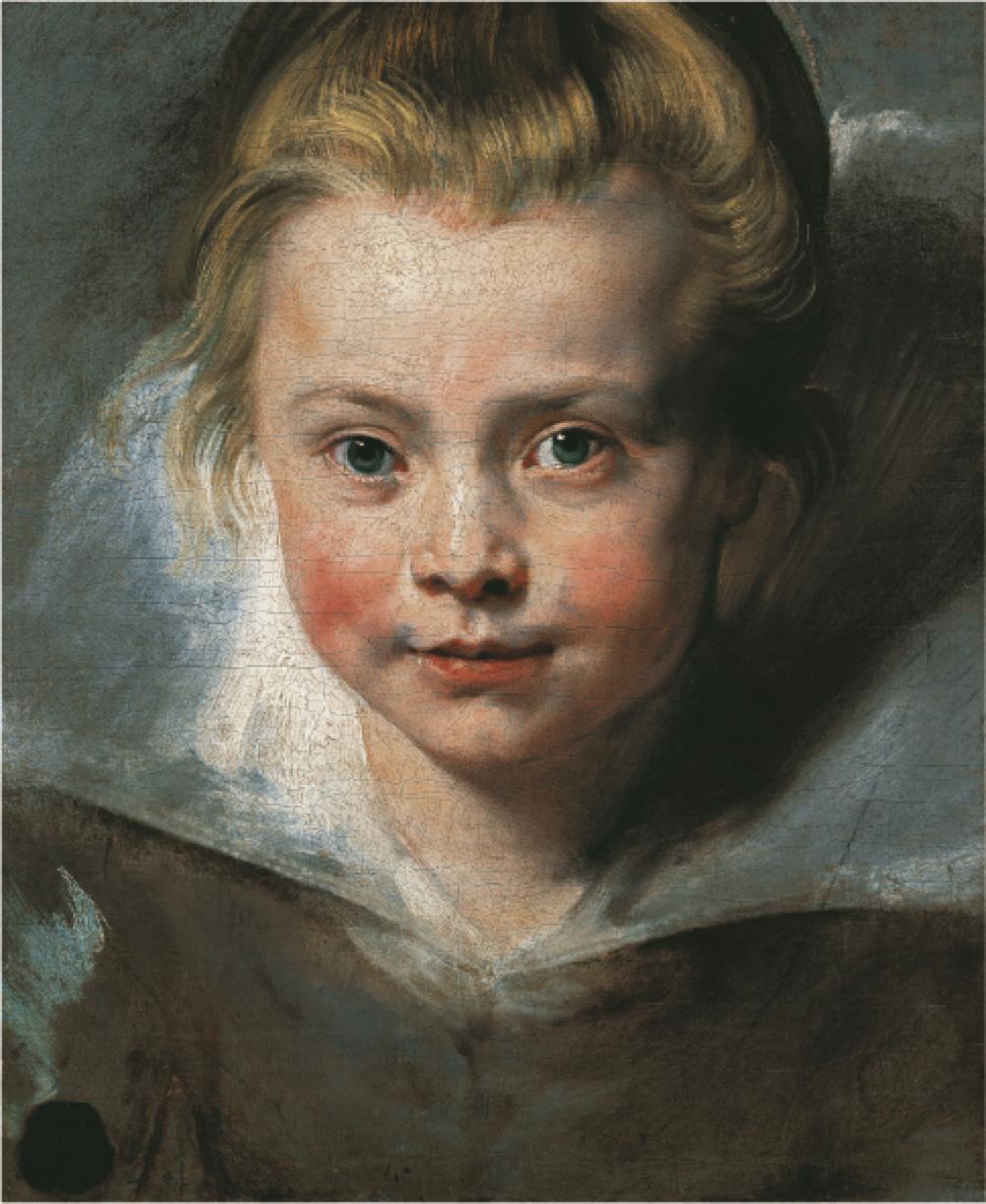 ペーテル・パウル・ルーベンス《クララ・セレーナ・ルーベンスの肖像》 ウィーン、リヒテンシュタイン侯爵家コレクション (C)LIECHTENSTEIN. The Princely Collections, Vaduz-Vienna