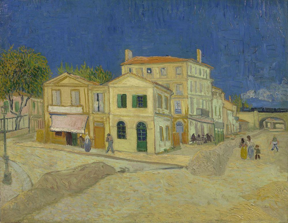 フィンセント・ファン・ゴッホ《黄色い家(通り)》1888年9月 油彩、カンヴァス 72×91.5cmファン・ゴッホ美術館(フィンセント・ファン・ゴッホ財団)蔵  (C)Van Gogh Museum, Amsterdam(Vincent van Gogh Foundation)