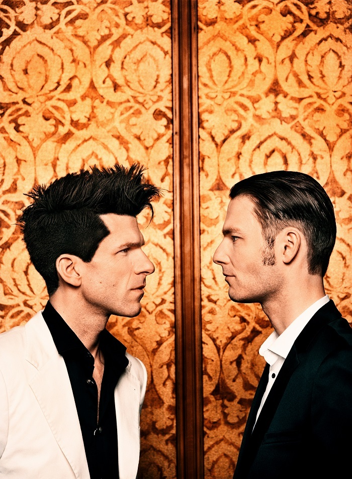 PIANO BATTLE - 9  (右)ポール・シビス、(左)アンドレアス・カーン   (C)Mathias Bothor