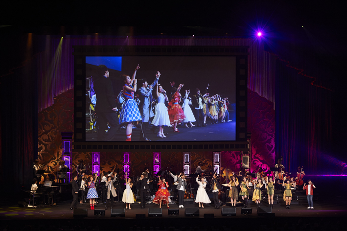 Presentation licensed by Disney Concerts. (C) Disney 「Friends of Disney Concert 2018より」