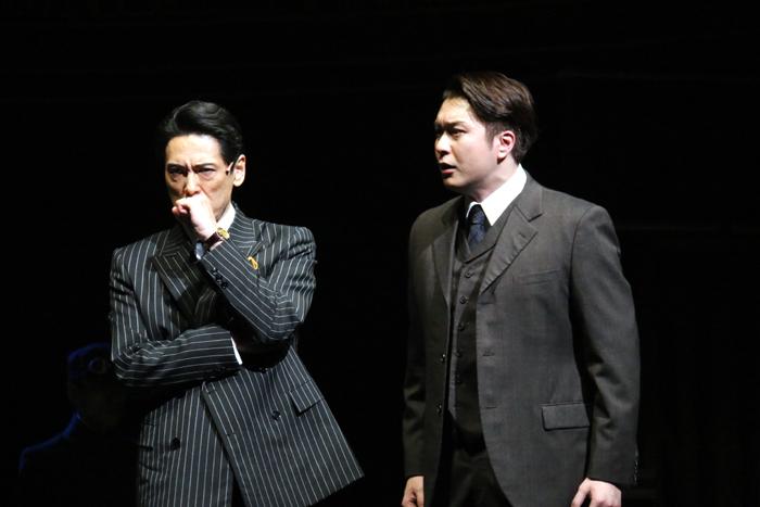 戸井勝海、大山真志/ミュージカル「グランドホテル」