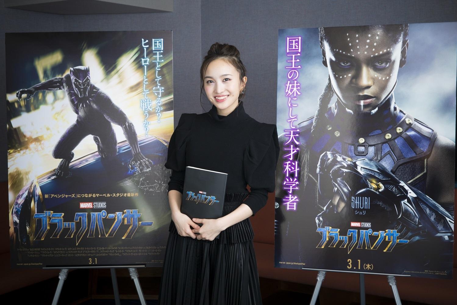 ももいろクローバーZ 百田夏菜子 (C)Marvel Studios 2017