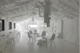 開発好明《スペース・ホワイト・カフェ(SWCafe)》2017年天覧台