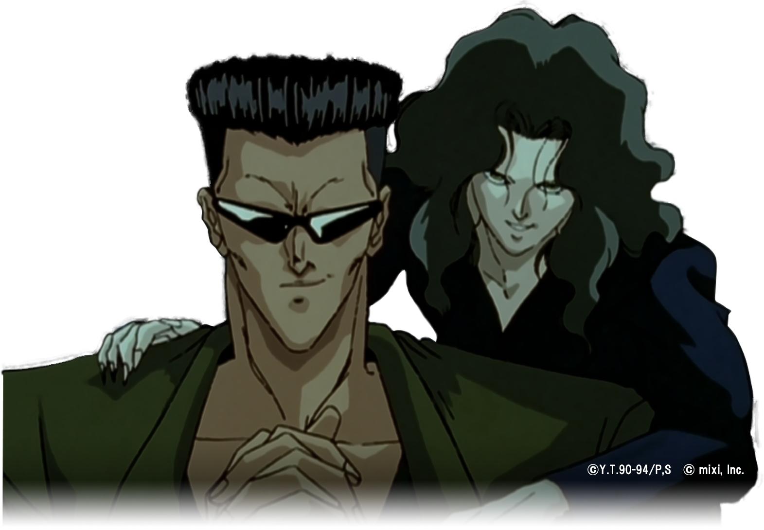 こちらがアニメ版の戸愚呂兄と弟 (c)Yoshihiro Togashi 1990年−1994年 (c)ぴえろ/集英社