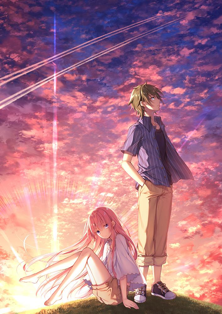TVアニメ『ガーリー・エアフォース』 ティザービジュアル (C)2018 夏海公司/KADOKAWA/GAF Project