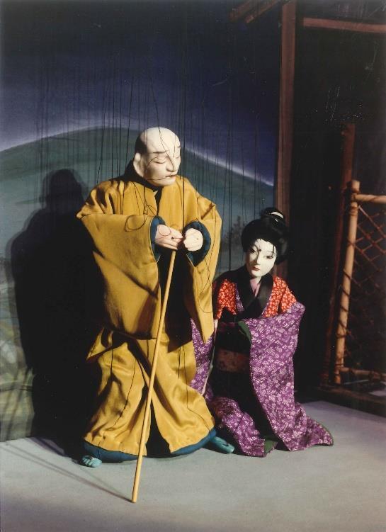 『壺坂霊験記』舞台写真/結城座提供