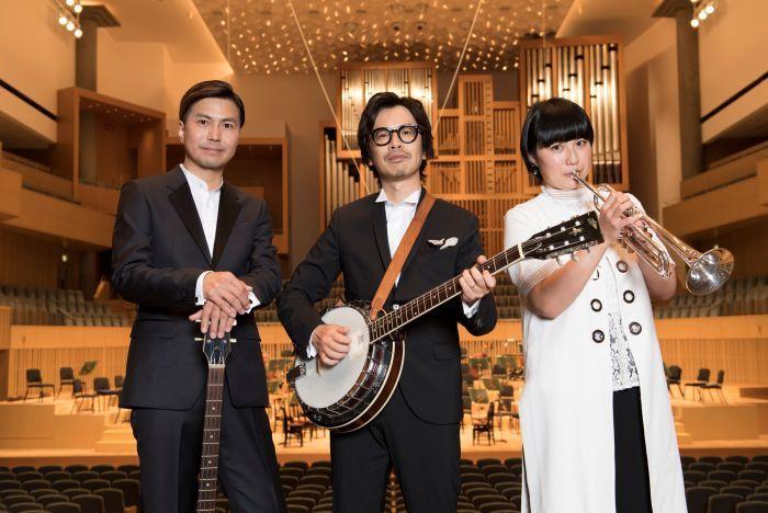 くるり 左から、佐藤、岸田、ファンファン