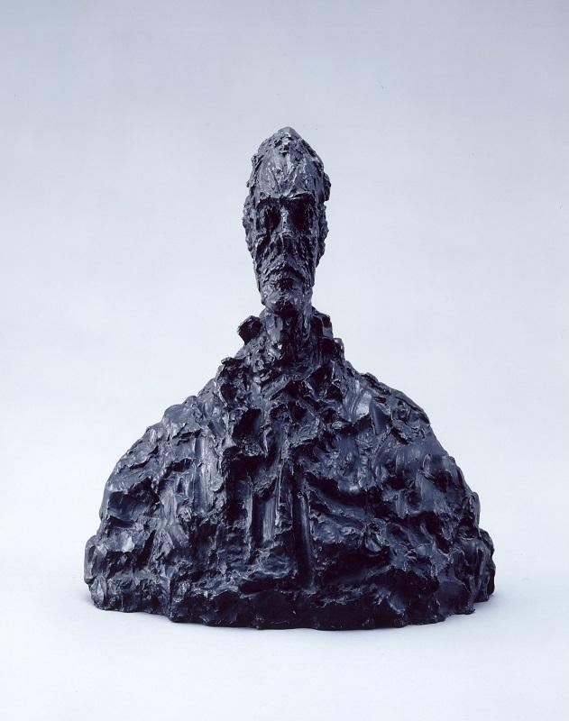 アルベルト・ジャコメッティ《ディエゴの胸像》 1954年 ブロンズ 豊田市美術館