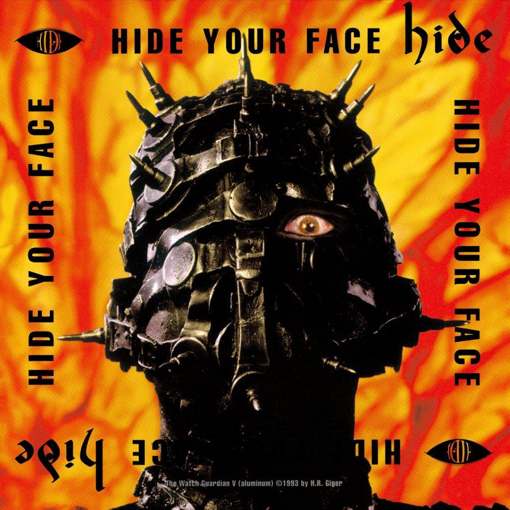 『HIDE YOUR FACE』アナログ盤