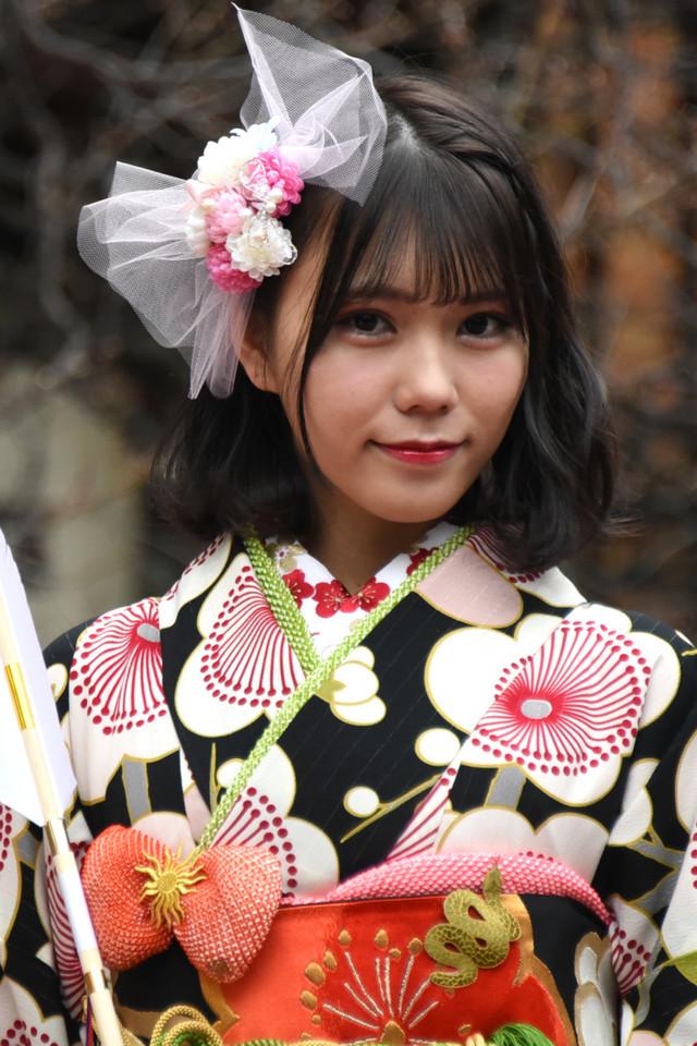 2018年1月に行われた乃木坂46メンバー成人式より川後陽菜。