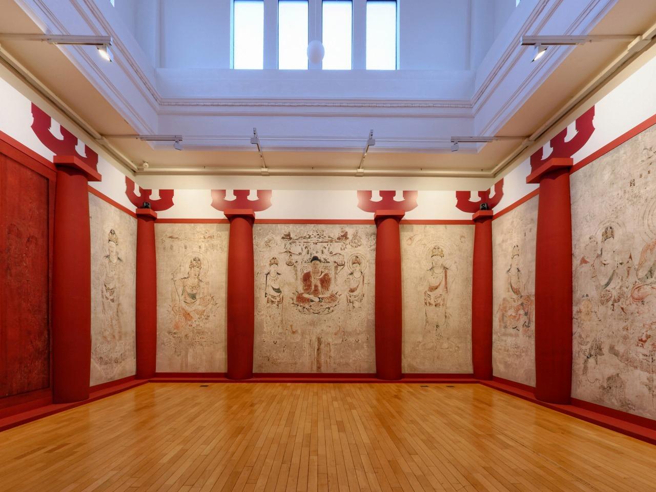 クローン文化財:法隆寺金堂壁画(焼損前復元)
