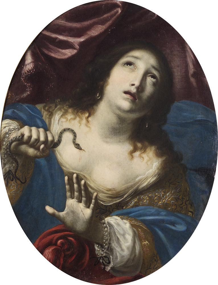 チェーザレ・ダンディーニ 《クレオパトラ》 17世紀 油彩/カンヴァス ウィーン美術史美術館 Kunsthistorisches Museum, Wien