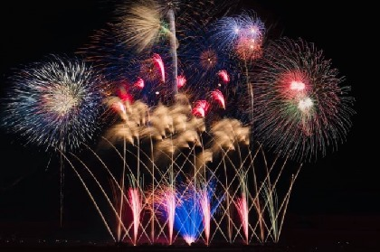 中四国初開催!徳島で西日本最大規模の『にし阿波の花火 全国花火師競技大会』有料観覧席一般販売が6/29(土)10時からスタート