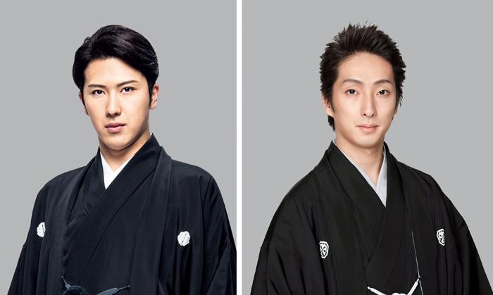 (左から)尾上松也、中村七之助