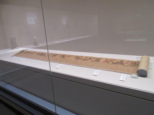 釈迦の生涯から弟子たちの出家に至るまでを記した、奈良時代の「絵因果経」