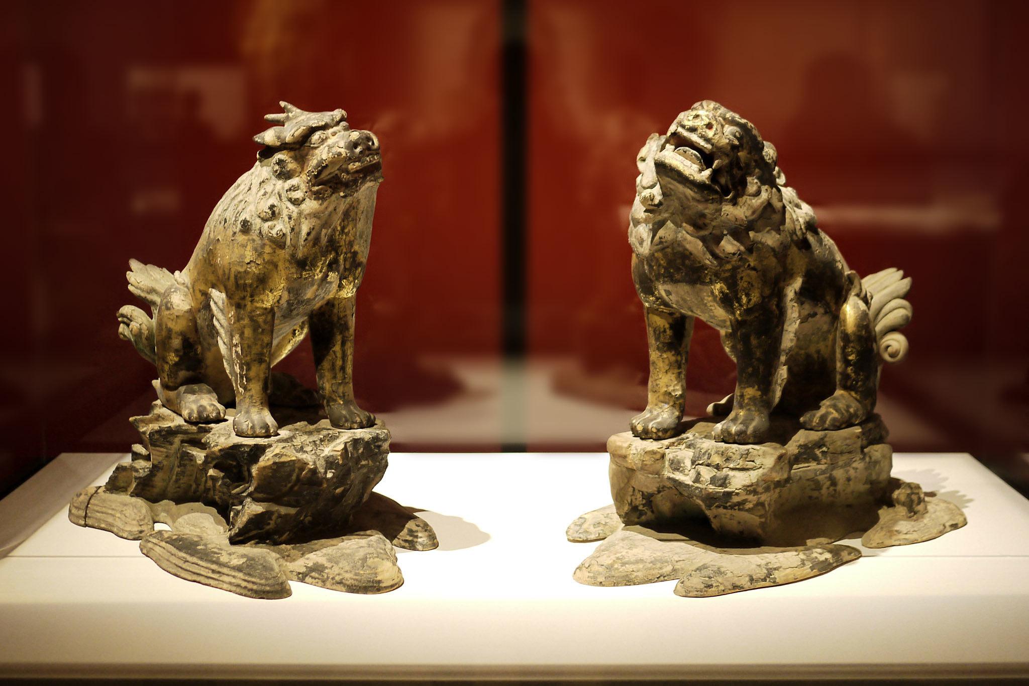 獅子・狛犬(第二殿)│鎌倉時代 13世紀 春日大社