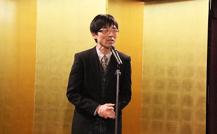 演出助手の相田剛志