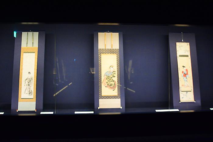 岡田美術館展示風景。