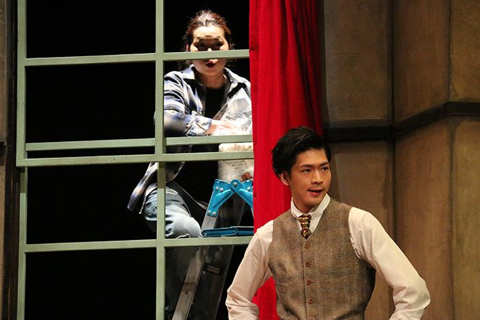 上地春奈、松下洸平/舞台「~崩壊シリーズ~『九条丸家の殺人事件』」