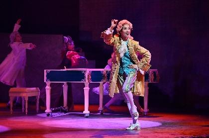 女性に生まれた祝福に満ちた、明日海りお主演『マドモアゼル・モーツァルト』が開幕