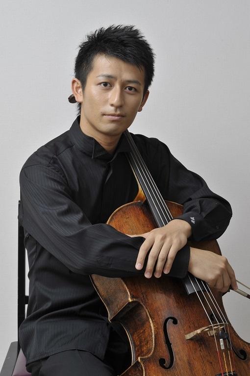 宮田 大(チェロ)   (C)Yukio Kojima