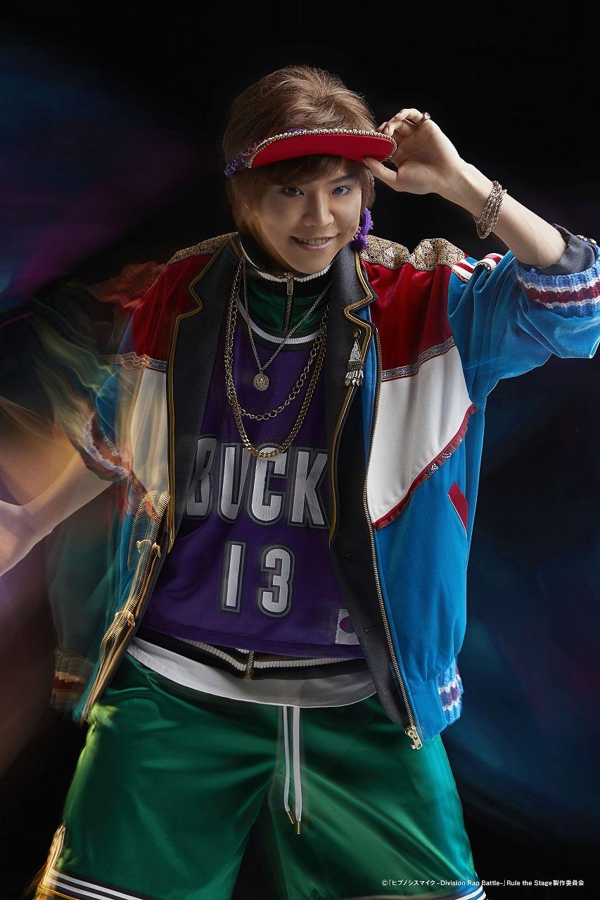 綿本裕孝:北乃颯希  (C)『ヒプノシスマイク-Division Rap Battle-』Rule the Stage 製作委員会