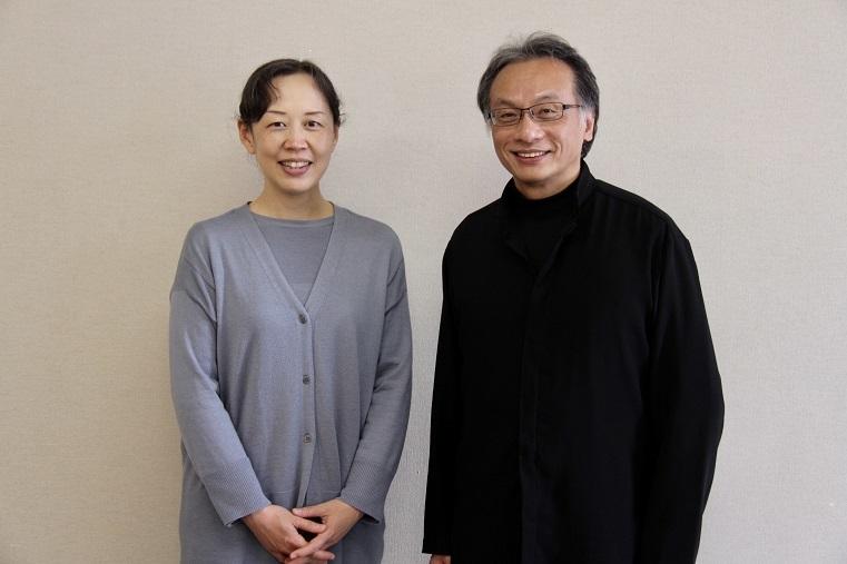 (左から)赤松由夏、牧村邦彦  (C)H.isojima