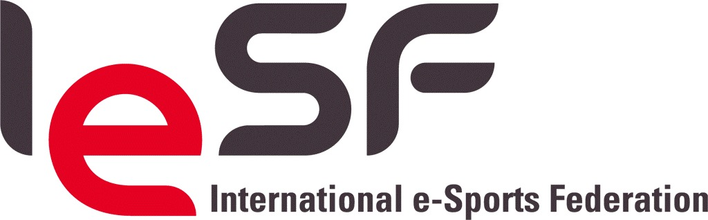 国際eスポーツ連盟(International Esports Federation、略称:IeSF)ロゴ