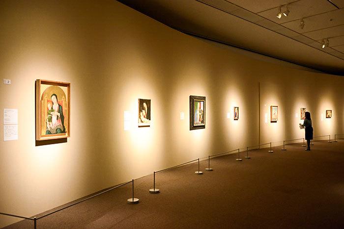 『ティツィアーノとヴェネツィア派展』展示風景