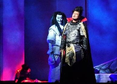 陣内孝則×水夏希、斬新な演出で魅せる信長時代劇『Honganji』ゲネレポ&舞台写真チラ見せ!