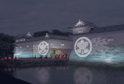 彦根城と多賀大社を光とアートで彩るイベント『城あかり神あかり』初開催