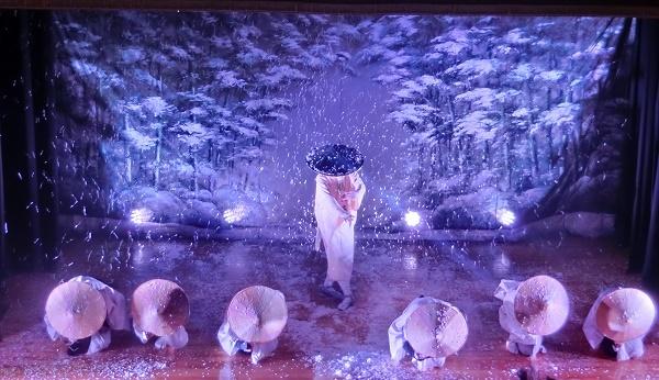 絶妙な暗さが厳冬の風景を作り出す『風雪流れ旅』(2016/7/3)