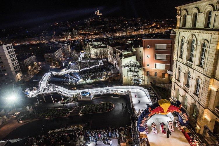 大会では光と音を楽しむことができる ©Joerg Mitter/Red Bull Content Pool