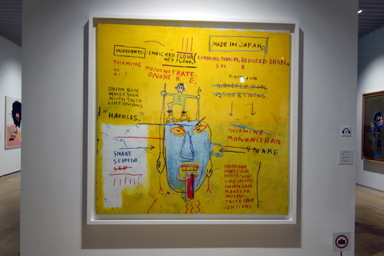 ジャン=ミシェル・バスキア Onion Gum, 1983, Courtesy Van de Weghe Fine Art,  New York, Photo: Camerarts, New York Artwork (C) Estate of Jean-Michel Basquiat. Licensed by Artestar, New York
