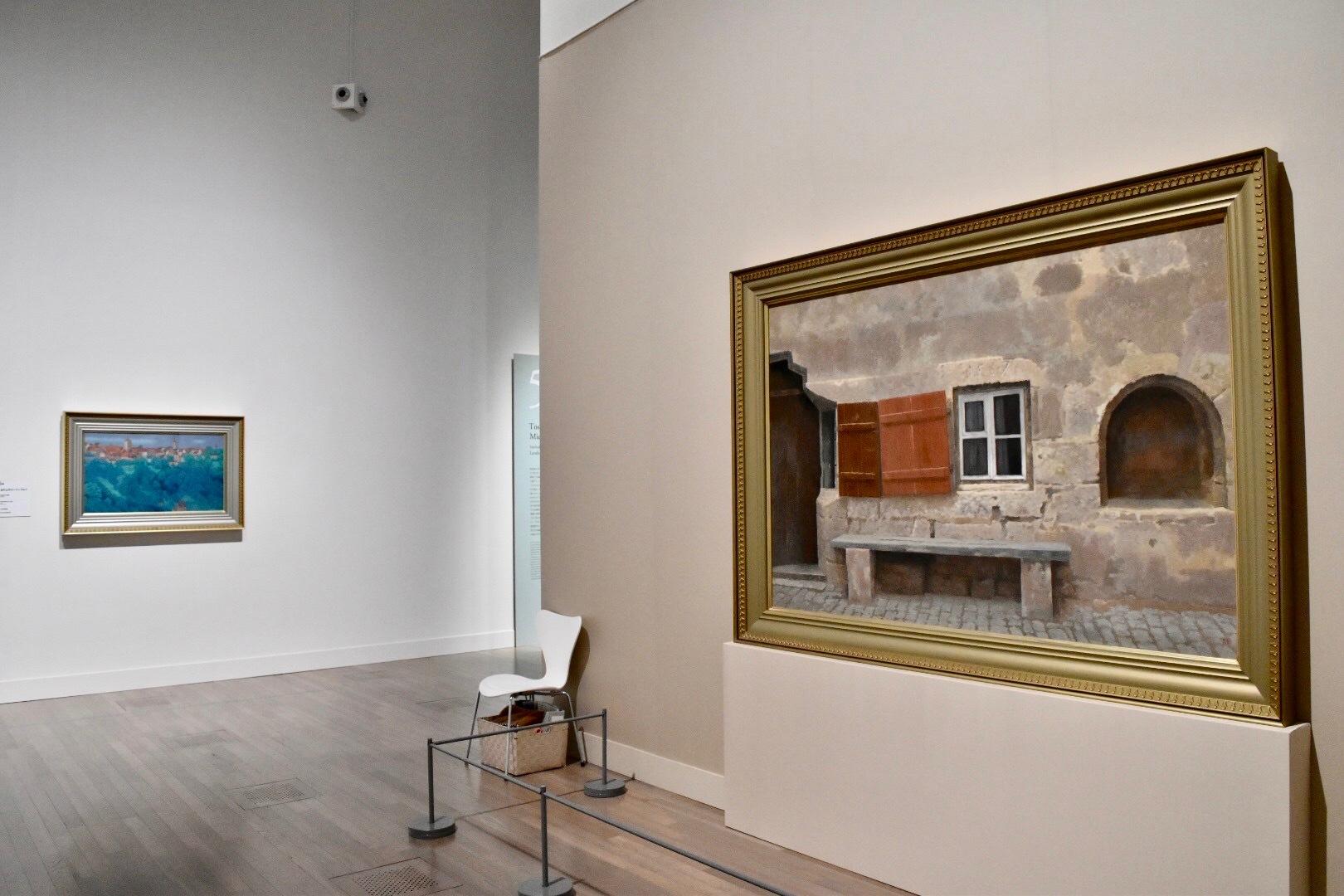 《窓》 昭和46年 長野県信濃美術館 東山魁夷館蔵