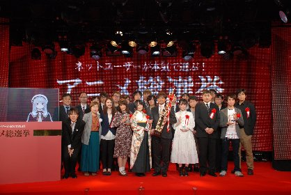 「ネットユーザーが本気で選ぶ!アニメ総選挙 2018 年間大賞」は『ゾンビランドサガ』に決定!
