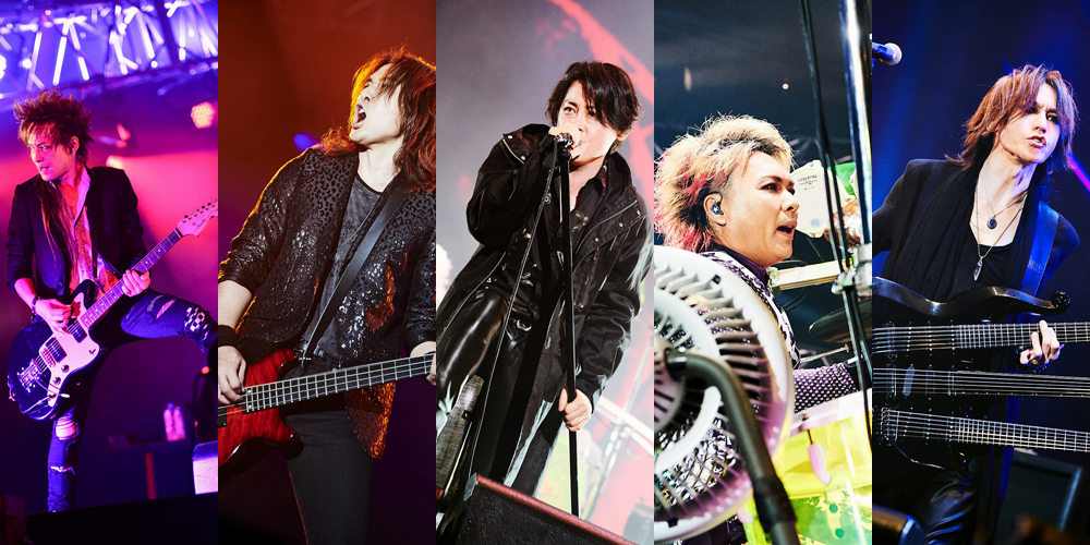 LUNA SEA『LUNATIC FEST. 2018』2018.6.24 幕張メッセ
