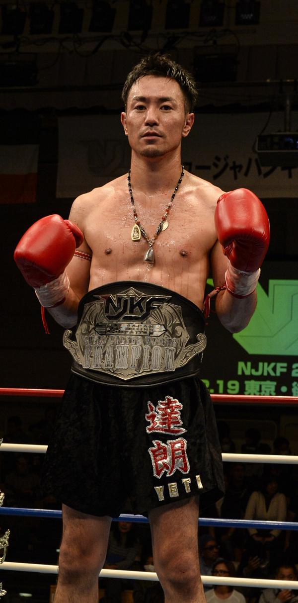 YETI達朗 (キング) WBCムエタイ日本スーパーウェルター級1位/NJKFスーパーウェルター級王者