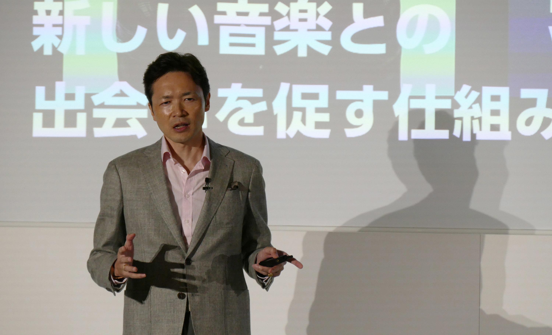 スポティファイジャパン株式会社 代表取締役社長玉木一郎氏