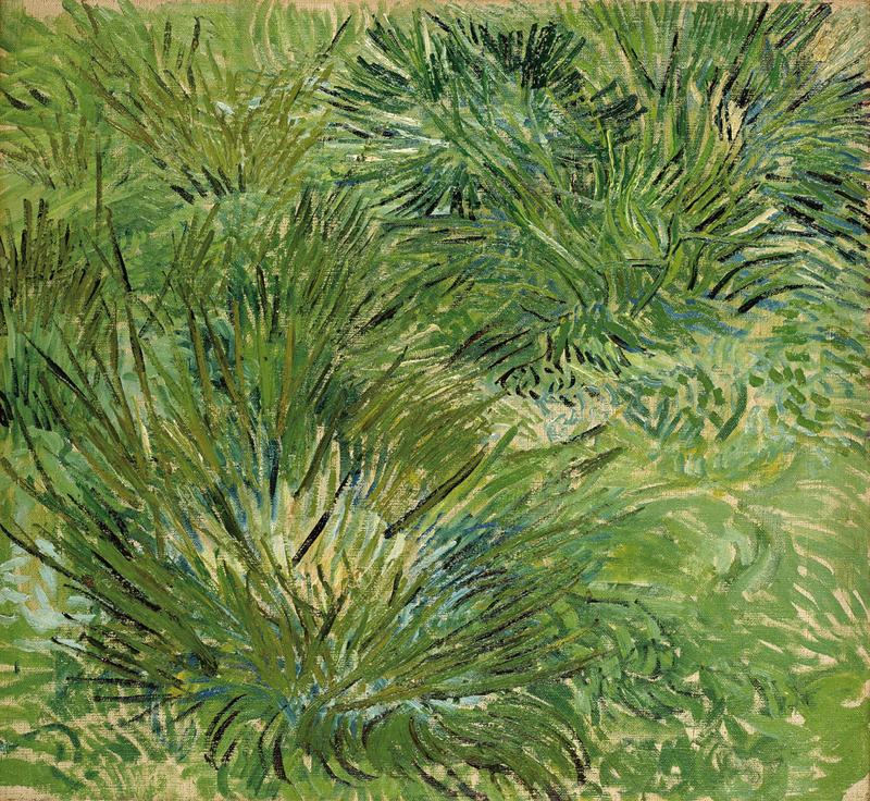 フィンセント・ファン・ゴッホ《草むら》1889年 ポーラ美術館蔵
