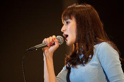 中島 愛、リリース記念イベントで新曲を披露 ワンマンライブへ希望も「来年とかに」